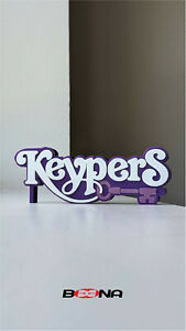 Decorative Self standing KEYPERS logo display