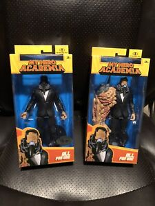 McFarlane  Toys My Hero Academia All For One Bundle!!! Chase Platinum Edition 7""