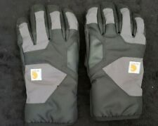 Men's Carhartt LARGE Black Insulated Cold Weather Gloves