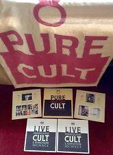 The Cult PURE CULT 1st Press Original 4 Vinyl Album Set - Rockers Ravers Lovers