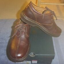 $120 NEW MENS BORN WILD BROWN PATINA LEATHER SIZE 10 CASUAL TIE SHOES