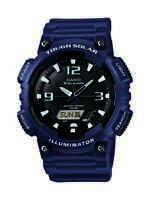 Casio Men's Tough Solar Illuminator Blue Resin Strap 47mm Watch AQS810W-2A2
