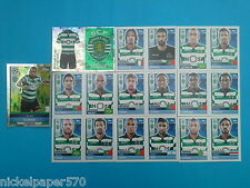 Topps Champions League 2016-17 2017 Team Sporting Clube 2016 2017 completo