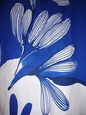 ZARA Super Vintage Inspired Cobalt Blue Shift Dress Large