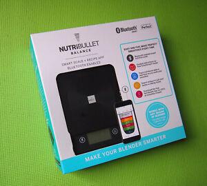 NutriBullet N12S-U0163 Balance Bluetooth Smart Scale
