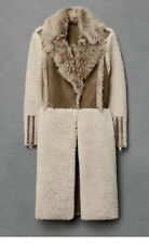 All Saints shearling Coat Sold Out Size 8uk / 36 Eu RRP 1200£
