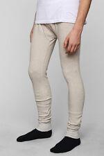 NWT Urban Outfitters KOTO Classic Long John Pajama Lounge Pants Waffle Oatmeal L