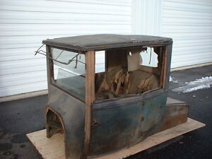1918 Model T Ford Coupelet Body Brass Era Pre-16 1915 1916 1917 1919 1920 Coupe