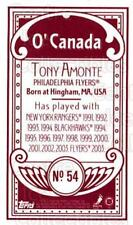 2003-04 Topps C55 Minis O Canada Red #54 Tony Amonte