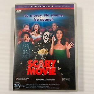 Scary Movie (DVD, 2001) Shawn Wayans Carmen Electra Region 4