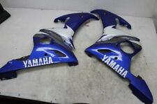 03 04 05 YAMAHA YZF R6 RIGHT LEFT SIDE MID LOWER FAIRING COWLS PAIR (READ)