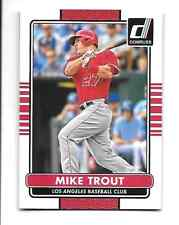 MIKE TROUT  2015 DONRUSS #100   LOS ANGELES ANGELS