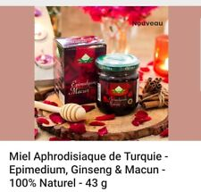 Miel aphrodisiaque Epimedium ginseng Macun  100% Naturel Et Puissant plantes