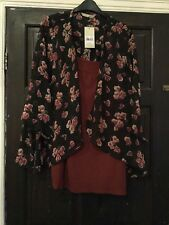 BNWT Lovely Two Piece Vest And Coverup By TU Size 20