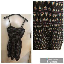 BOAT PATTERN NAUTICAL DRESS..BRAND NEW..SIZE 8..SUMMER/HOLIDAYS