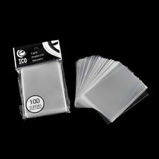 100pcs/pack Card Sleeve Cards Protector Magic Card Transparent Unsealed Game