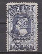 NVPH Netherlands Nederland 94 used Jubileumzegel 1913 TOP CANCEL 2x UTRECHT