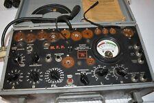 Signal Corp  Military I-177-B Vacuum Tube Tester Working Tested