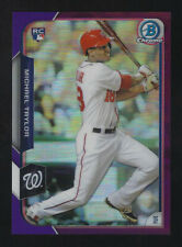 2015 Topps Chrome Purple Refractor #187 Michael Taylor RC SP /250 - Nationals