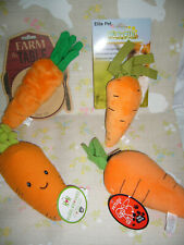 CARROT DOG TOY -You Choose (NEW)