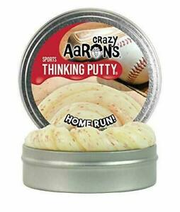 Crazy Aaron's HomeRun! Table Top Baseball Set ~ Cornhole Board and Putty
