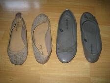 Lot de chaussures usées ballerines P 38 well worn voir photos