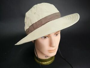 REI Safari Sun Outdoor Hiking Hat Mens Womens Travel Packable Size S / M
