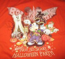 New listing Walt Disney Mickey Mouse's Halloween Party (Xl) T-Shirt Goofy Donald Duck Pluto