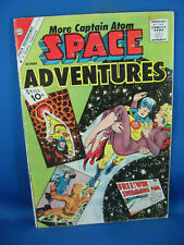 SPACE ADVENTURES 42 VG CAPTAIN ATOM DITKO 1961
