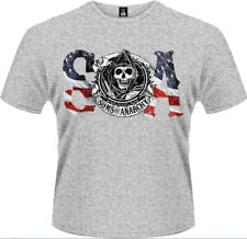 Sons Of Anarchy - Flag T-Shirt Homme / Man - Taille / Size M PLASTIC HEAD