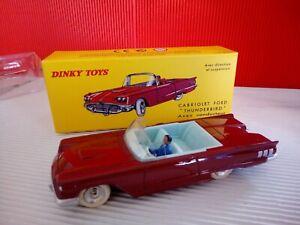 Modellino DIE CAST Dinky Toys Ford Thunderbird 555 DeAgostini 1/43 Nuovo