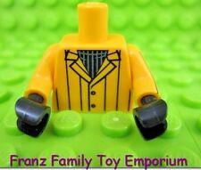 New LEGO Minifig Light Orange TORSO Suit Jacket/Shirt Batman Movie Series Eraser