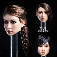 YMTOYS YMT020 1/6 Female Soldier Figure head sculpt Asian Beauty YA Toys Gifts