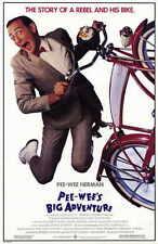 PEE WEE'S BIG ADVENTURE Movie Promo POSTER Paul (Pee wee Herman) Reubens