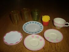 Guc Doll Size Replacement Parts Dishes Cups Plates Kitchen Stuff