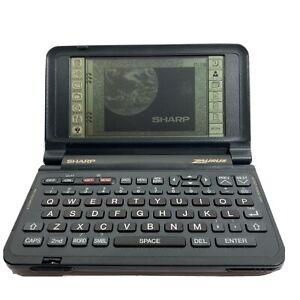 Vintage Sharp Zaurus ZR-5000 PDA Personal Electronic Organizer Tested & Working