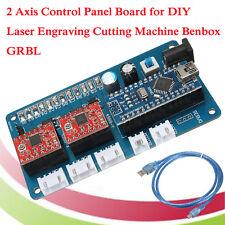 2 Axis Stepper Motor Control Board Driver For DIY Laser Engraver Benbox GRBL