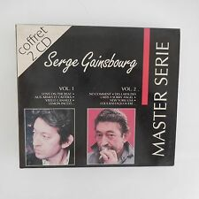 SERGE GAINSBOURG MASTER SERIE COFFRET 2 CD 834227