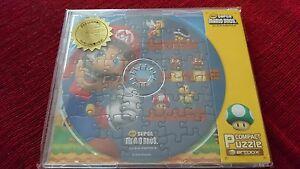 Super Mario Bros cd compact puzzle Japan Nintendo