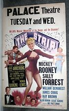 Louis Armstrong/Earl Fatha Hines/Sally Forrest 1951 Mgm movie poster The Strip