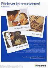 Prospekt Polaroid Produktleitfaden 12/02 D brochure Broschüre Photografica USA