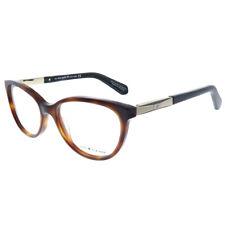 New Kate Spade Kassia CRX Tortoise Blue Plastic Cat-Eye Eyeglasses 51mm