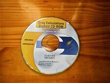 Drug Calculations Student Cd- Rom Version Iii Elsevier Mosby *Reduced*