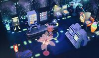 Animal Crossing New Horizons 👾🎮 Gaming- / Arcade - Zimmer / Spielhölle 🎮👾