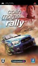 Used PSP Colin McRae Rally-PSP Japan Video Game