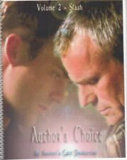 "Stargate Fanzine ""Ancient's Gate 2: Author's Choice"" SLASH"