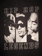 "Notorious BIG TUPAC SHAKUR I CUBE ""Hip Hop Legends"" (XL) T-Shirt 2PAC"
