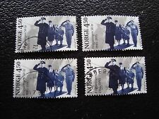 NORVEGE - timbre yvert et tellier n° 1136 x4 obl (A30) stamp norway