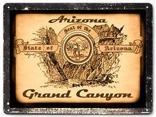 Grand Canyon Arizona metal sign / retro vintage antique style wall decor art 346