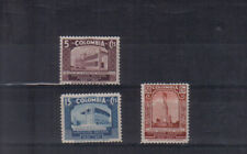 Colombia 1937 Barranquilla Industrial Exhibition set very lightly mounted mint